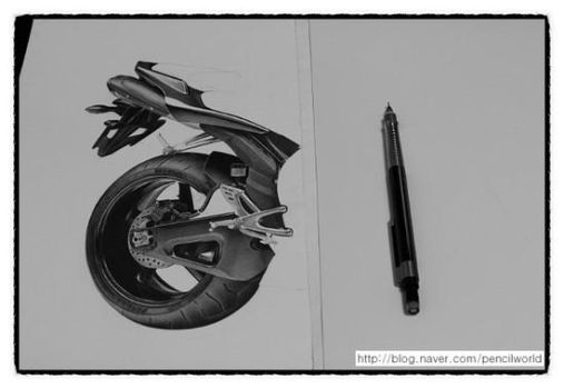 YAMAHA R1 Drawing WIP by sharppower