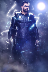 Thor -  Avengers: Infinity War by AcCreed