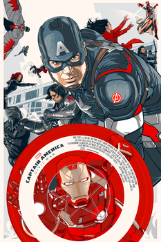 Captain America Civil War by Aseo