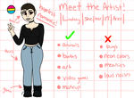 Meet The Artist by Lindsbees