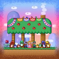 Super Mario World Ending by likelikes