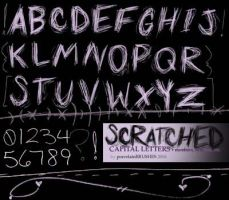 .:SCRATCHED letters,etc.:. by porcelainBRUSHES