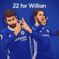 22 for Willian by dicky10official