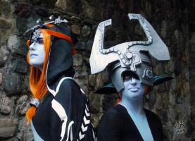 Midna and Midna: Twilight Princess by VFire