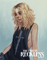 Commission -  The Pretty Reckless by Karoudrawws