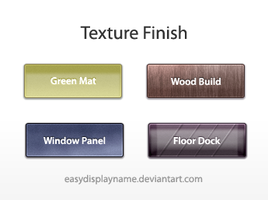 Texture Finish by easydisplayname