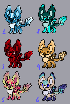 Little griffin adopts - 1/6 OPEN by NoctaAdopts