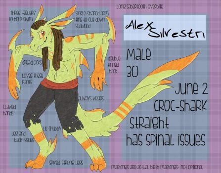 ::REF:: Alex Silvestri by Calamiiity