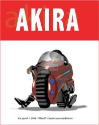 Fan of Akira by TSCreative
