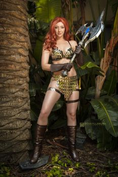 Red Sonja by Feisty Vee by wbmstr