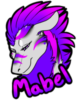 (personal) Badge: Mabel by LindsayPrower