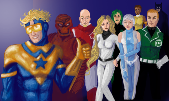 Justice League International by R-Newman
