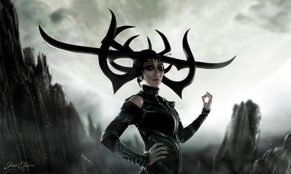 Hela: The Queen of Hel by JoviClaire