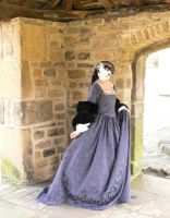 Lyn Marie not dressed as Bronte early tudor gown by Abigial709b