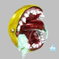 omg pacman by TheMagicAfro