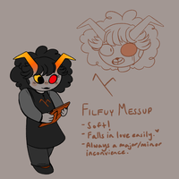 Filfuy Ref! (She's so kissable!!!) by ClericlyDepressed