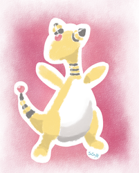 Ampharos by ehcyt