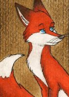 Jungle-fire ACEO by FoxInShadow