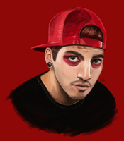 Josh Dun from Twenty One Pilots by maaya-art
