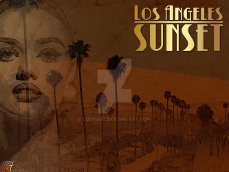 Los Angles Sunset 1 by LodyArt