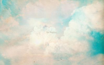 wallpaper - be happy by flowersong