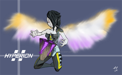Borderlands 2 - The Angel by Aeolus097
