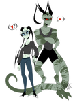 Kai and Basil - Holding hands by Shadow-of-Destiny