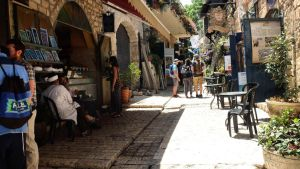 Touring the old city by ShlomitMessica