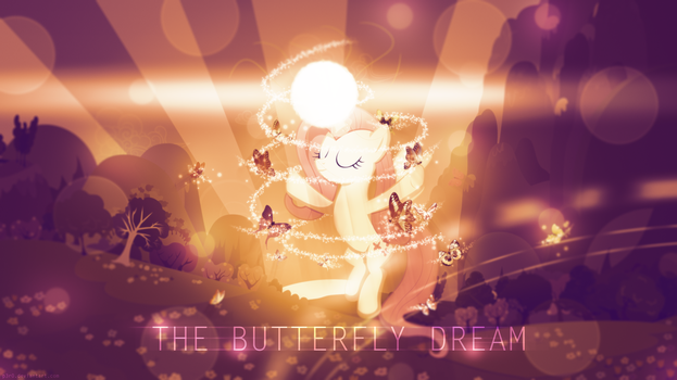 Fluttershy: The Butterfly Dream - 4k Wallpaper by P3r0