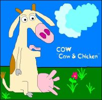 Cow of Cow and Chicken by FDQ