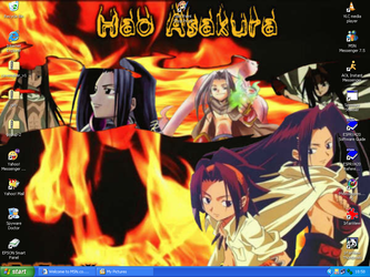 Yoh and Hao desktop by AbiJayE