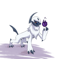Absol by Scribblehatch