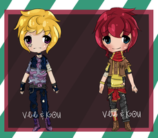 {Auction} Collab with KouakumaAdopts! {OPEN} by Veegal