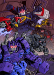 Soundwave and friends - Coloured by Natephoenix