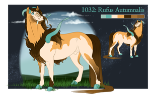 1032   Rufus Autumnalis by Winzer