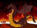 (tablet art 2) Valok The Rage for friend by Kyotita