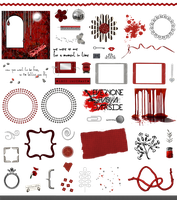 True Blood / Vampire: Word Art + Clear Cut PNG 11 by Riogirl9909stock