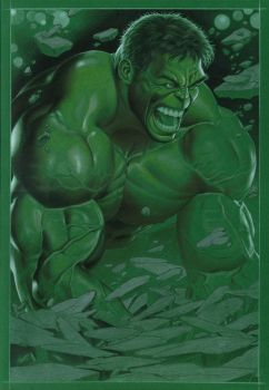 work in progress_ hulk by petervale