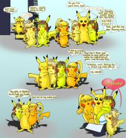 Pikachu Knows Best 5/6 by Dopplegager