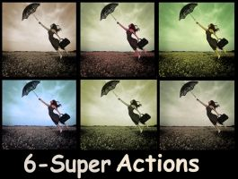 Vintage dream ps actions by Ameliethe