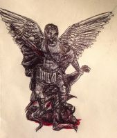 Saint Michael the Archangel  by swiftcross