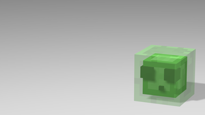Slime Minecraft Rig by CactusKnight