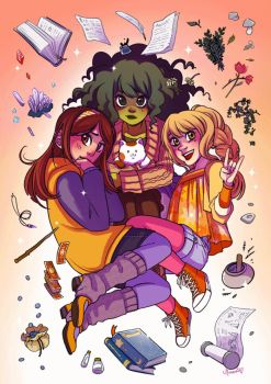Rainette a witchy webcomic by Moemai