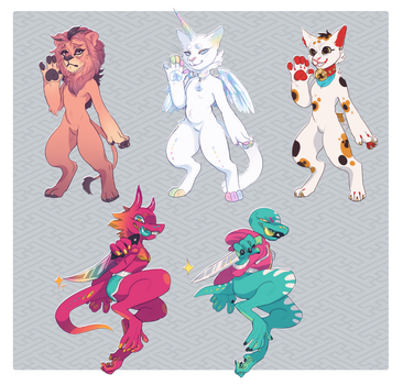 Adopts_Vet Fund One-offs (CLOSED, Thank you!!) by BagelHero-Works