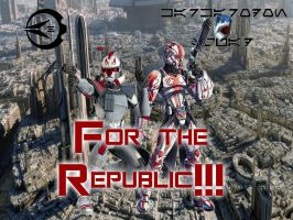 For the Republic!!! by AuraHero7