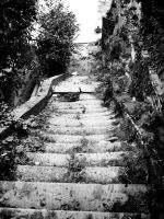 The Stairs by Ph1at1ine