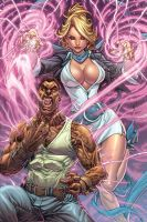 Godstorm Hercules Payne #4 Cover by Ross-A-Campbell