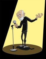 George Carlin by Hen-Hen