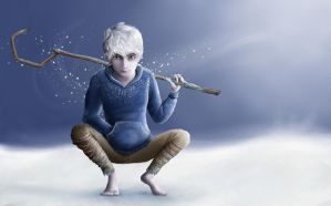 Jack Frost! by little-ampharos