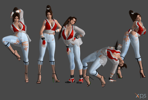 DOA Pose Pack 4 by Marcelievsky